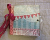 Circus Themed Paper Bag Scrapbook Album