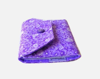 Needle Wallet - Lavender Purple Needle Organizer - Sewing Needle Storage