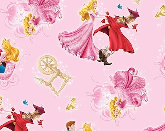 DISNEY's Sleeping Beauty fabric---So Cute