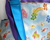 The Expedient Weekender or Diaper Bag- Custom with PREMIUM Fabric- A favorite With Cloth Diaper Moms