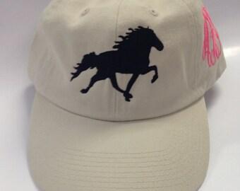 Horse embroidery design file