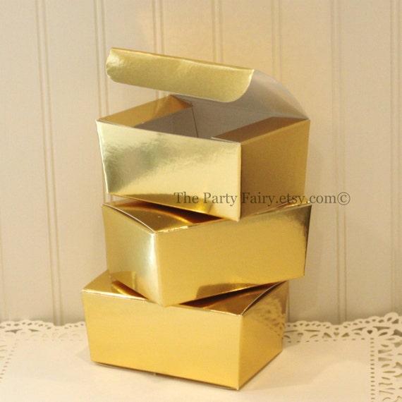 Golden Wedding Gift Box : ... Gold Treat Box, DIY Weddings, Gold Gift Box, Candy Box, Metallic Gold