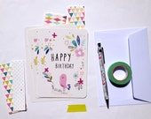 "Cards ""Happy Birthday"" 4 x6 """