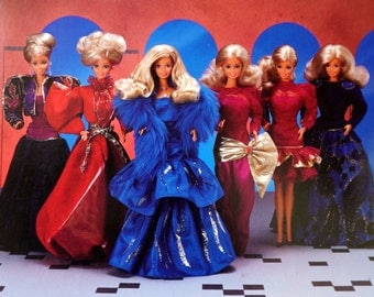 1985 Mattel Oscar de la Renta for Barbie Collector Series VIII, IX and XIII Like-New In Box / Your Choice or All Three