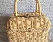 Vintage Woven Box Purse