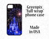 Disney iPhone 6 6S case, iPhone 7 plus, Disney iphone 5 5S case, Disney Galaxy S7 case, Disney Galaxy S6 case, Cinderella castle, fireworks