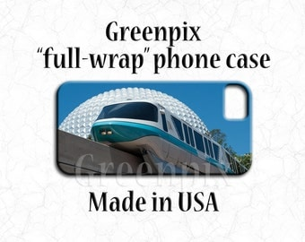 Disney monorail iPhone 7 plus case, Disney EPCOT Galaxy S6 cover, Disneyworld photography, Disney iPhone 6 accessories, spaceship earth
