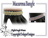 Macarena  Bangle - Beading Pattern Tutorial