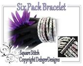 Six Pack Bracelet - Tila Beading Pattern Tutorial