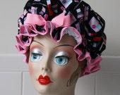 """Shower Cap Women's Waterproof Washable """"Makeup Artist"""""""