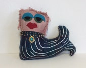 CLEARANCE Mermaid Monster Doll Pillow
