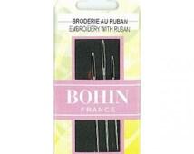 Bohin Broder Crewel Embroidery Needles - Large Eye