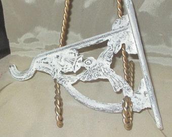 Bird Hanger Hook cast iron plant, coat, towel, umbrella, key hook pick your color Hummingbird