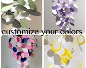 Custom Colors Handmade Baby Mobile - customize to match your nursery decor