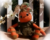 Primitive Raggedy Ann Sweet Potato Doll