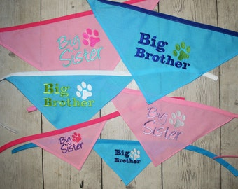 Dog Big Brother Big Sister, Dog Bandana