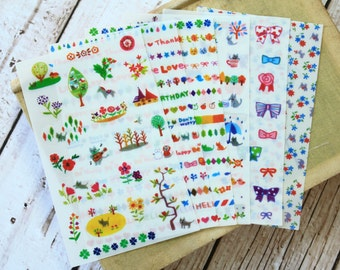 ssba fancy deco cartoon stickers