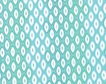 AQUA Ombre Fabric 3 yds CUZCO Kate Spain mod Moda graphic modern quilt maker sewing 3 full yards 27135-15