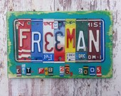 10th Wedding Anniversary Tin Aluminum Gift - 10 year wedding anniversary gift for man husband men License Plate Sign Name Art Personalized