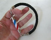 Tick Type Barber Pole Bracelet For Man