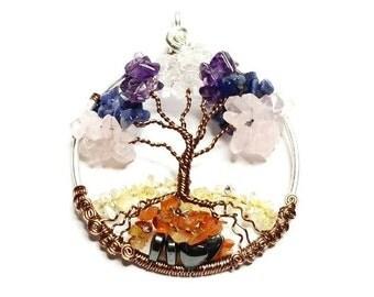 Chakra Tree of Life Custom Made to Order