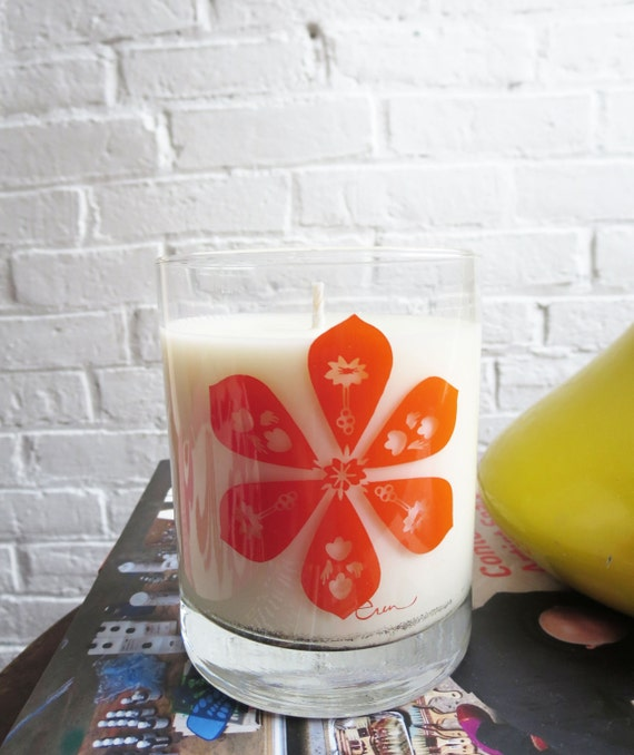 Waschtisch Mango Jasmin : Items similar to soy candle hand poured in maine