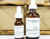 Ylang Ylang Ginger Botanical Floral Body Oil in 2 oz. Amber Bottle