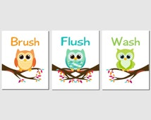 kids owl bathroom popular items for bathroom on etsy 13367