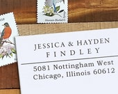 Custom Rubber Stamp - Self Inking Address Stamp - Nottingham