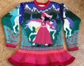 Nine Year Princess Sweater