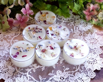 3 Goddess Brigid's Soy Tea Lights, Imbolc Offerings, Imbolc Tea Lights, Imbolc Suppiles