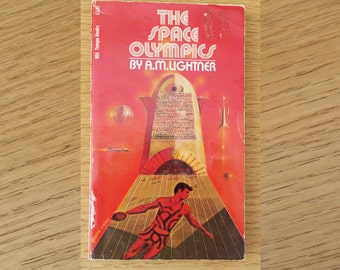 "Vintage Paperback ""The Space Olympics"" by A.M. Lightner"