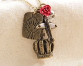Little Prince Charm Necklace