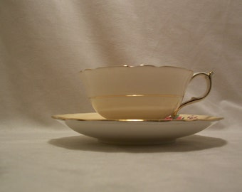 Tea Cup, Paragon, H.M.Queen,H.M.Queen Mary, Bone China, # 4