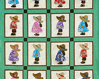 Hawaiian Sunbonnet #1 Pattern