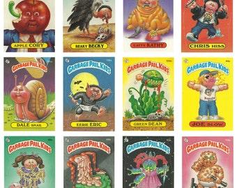 Garbage Pail Kids Vintage Reproduction Posters - '80s Nostalgia! 11x15.5 Glossy Press Prints - FREE SHIPPING!