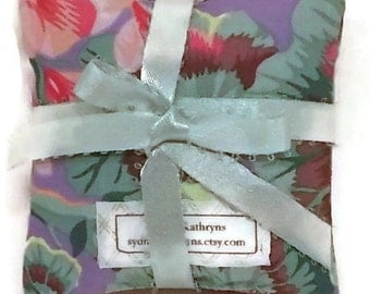 Organic Lavender Sachet,  100 Percent Cotton, Set of Three