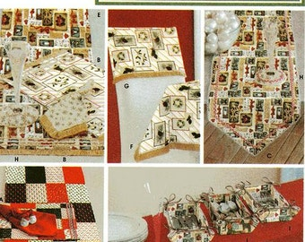 Simplicity Crafts Pattern 5776 - Dining Room Table Accessories - One Size Pattern