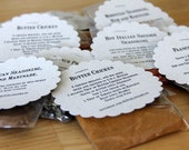 Sample Size Spice Blends - Single Use Spice Mixes - Organic Spice Blends - Recipes Included
