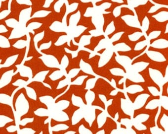 For Your Home by Vicki Payne-Leaves in Orange-Home Decorator Fabric-1 Yard