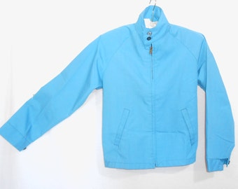 Jackets Boys Spring Jacket Boys Vintage Jacket Blue Jacket Vintage Members Only Style