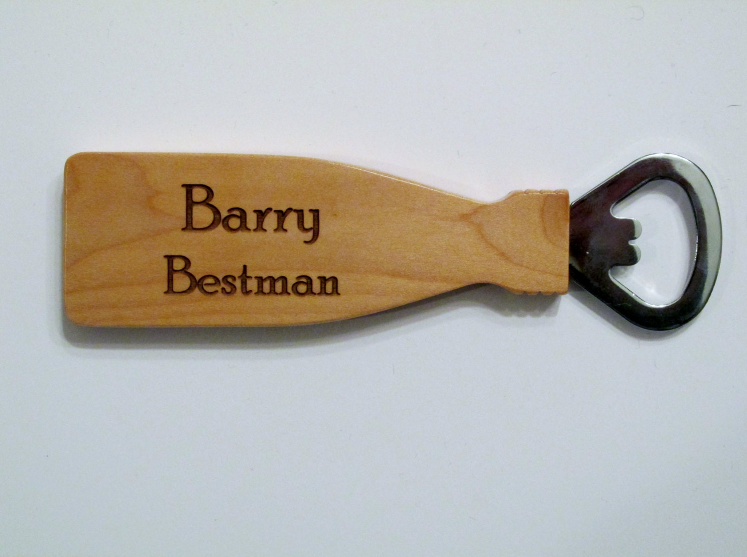 Personalized Bottle Opener Beer Bottle Opener Wood Bottle