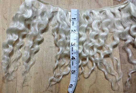 Mohair Weft Doll Hair 56