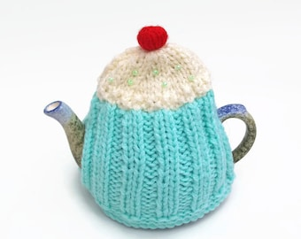 tea cozy cupcake cosies mint cozy