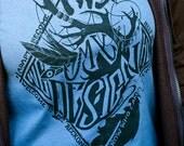 Hannibal T-Shirt - Will Graham This is My Design Shirt - Will Graham shirt - Nightmare Stag Shirt - Denim Blue - Hannibal Shirt