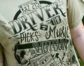 Supernatural Shirt - Dean Winchester Driver Picks The Music Supernatural T-Shirt - Winchester Brothers - Impala Shirt - Supernatural Gift