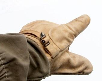 1951 Military Mitten Shell Trigger Finger Gloves