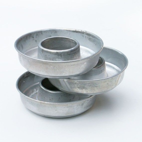 Aluminum Jello Molds Small Tins Baking Pans From