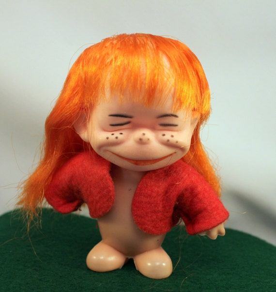 Ugly Brat Doll Funny Freckle Faced Red By Mothersminitreasures
