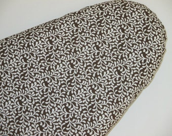 Standard Size, Ironing Board Cover, Brown and White